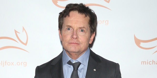 Actor Michael J. Fox played Alex P. Keaton on the comedy series 'Family Ties' for seven seasons in the '80s.