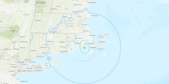 An earthquake rattled southern New England on Sunday, Nov. 8, 2020.
