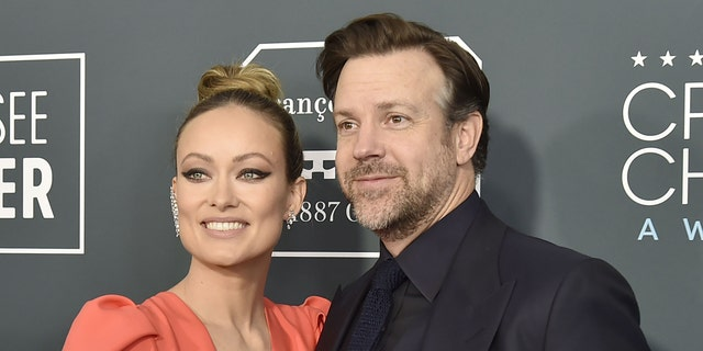 Olivia Wilde (left) and Jason Sudeikis (right) got engaged for the first time at the end of 2012.  (Photo courtesy of David Crotty/Patrick McMullan via Getty Images)