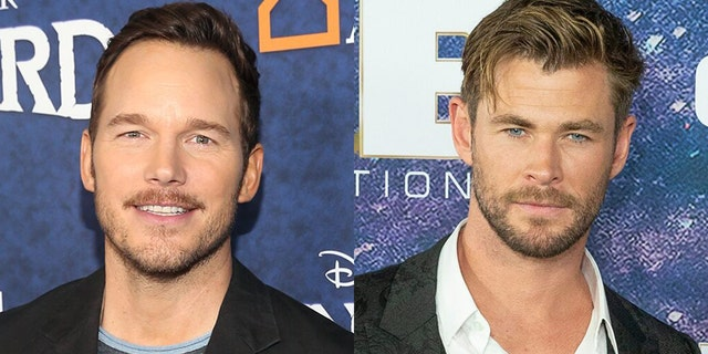 Chris Pratt responded to a photo of Chris Hemsworth working out.