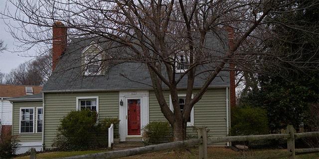Katherine and Sheila Lyon's childhood home, present day.