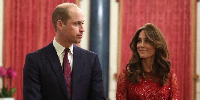 Prince William and his wife Kate Middleton, Duchess of Cambridge.