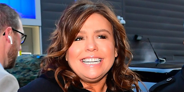 NEW YORK, NY - JANUARY 15: Rachael Ray is seen outside Good Morning America on January 15, 2020 in New York City. (Photo by Raymond Hall/GC Images)