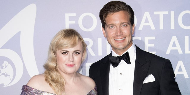 Rebel Wilson shared several photos of herself and her boyfriend, Jacob Busch, in celebration of Halloween. (Photo by SC Pool - Corbis/Corbis via Getty Images)