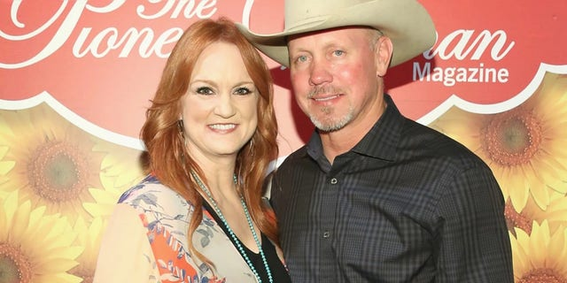Ree Drummond and Ladd Drummond pose for a photo during The Pioneer Woman Magazine Celebration with Ree Drummond at The Mason Jar on June 6, 2017 in New York City.