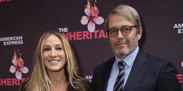 Sarah Jessica Parker and Matthew Broderick voted on Tuesday with their 18-year-old son James. (Walter McBride/FilmMagic)