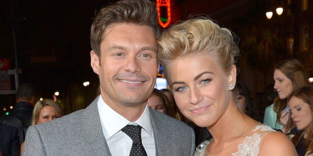 Julianne Hough opened up about her relationship with Ryan Seacrest.