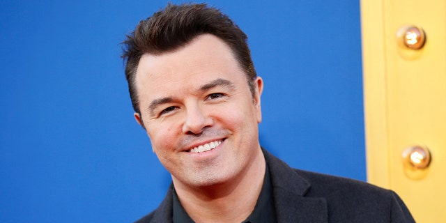 """Actor Seth MacFarlane poses at the world premiere of the film """"Sing"""" in Los Angeles, California, December 3, 2016. REUTERS/Danny Moloshok"""