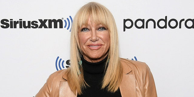 Suzanne Somers also found success as the spokesperson for ThighMaster. (Getty Images)