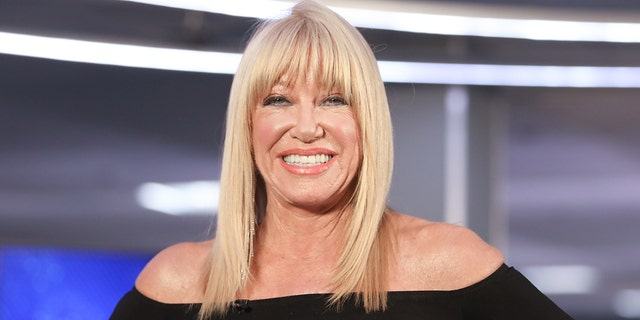 Actress Suzanne Somers, 74, stunned fans with a snap of her wearing short shorts alongside her granddaughter.