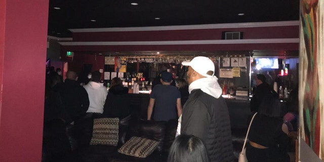A swingers sex club in Queens was busted by police. (NYC Sheriff's Department)