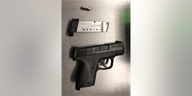 On November 14, the TSA found a loaded pistol at Richmond International Airport.  (Transport Security Administration)