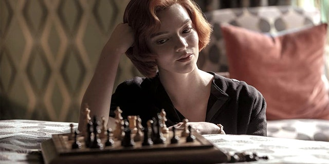 """Netflix's """"The Queens Gambit"""" has sparked many to pick up chess, according to a two-time champion. (Netflix)."""