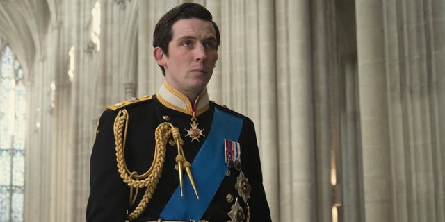 Josh O'Connor as Prince Charles in 'The Crown.'