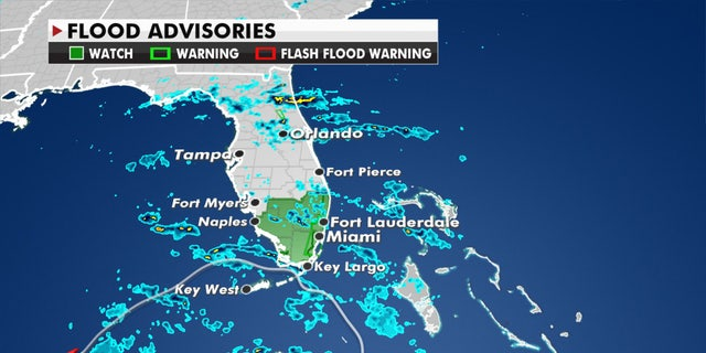 Tropical Storm Eta is still bringing heavy rain to parts of South Florida.