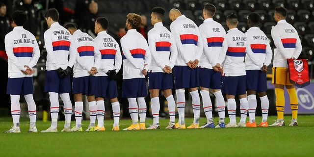 U.S. Players Send Anti-racism Messages Before Wales Draw