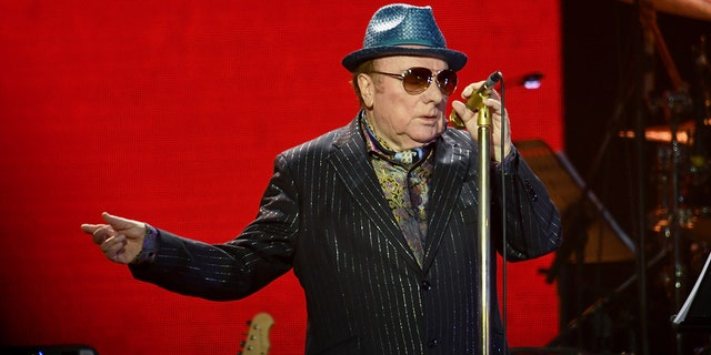 Van Morrison performs on stage during Music For The Marsden 2020 at The O2 Arena on March 03, 2020, in London, England. (Photo by Gareth Cattermole/Gareth Cattermole/Getty Images)