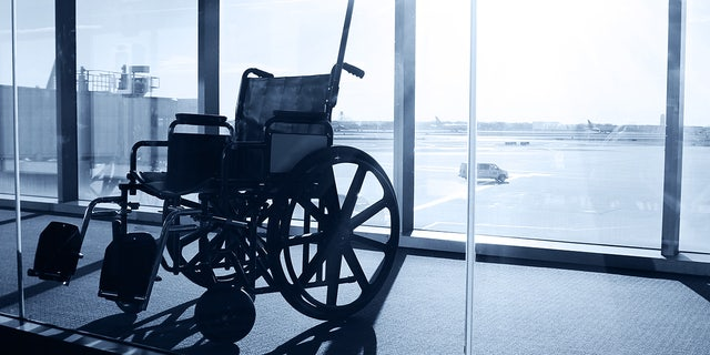 """Blogger John Morris says American Airlines' current policy creates a """"transportation desert"""" for passengers who use certain wheelchairs."""