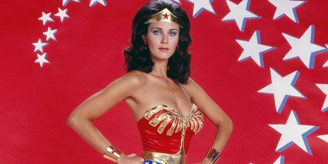 Lynda Carter celebrated the 45th anniversary of 'Wonder Woman.'