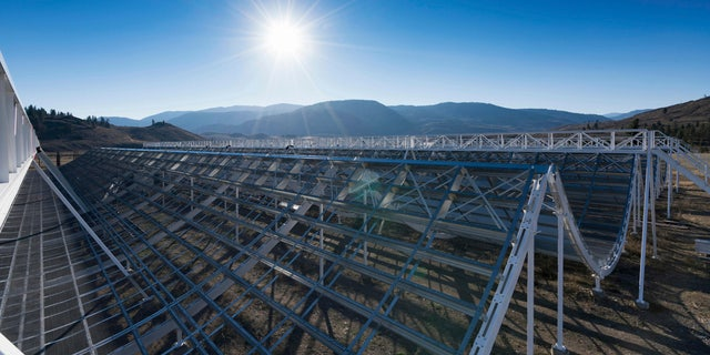 Astronomers said they used the CHIME radio telescope at the Dominion Radio Astrophysical Observatory in Kaleden, British Columbia, Canada to trace an April 2020 fast cosmic radio burst to our own galaxy.
