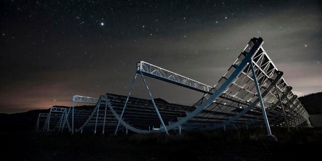 On Wednesday astronomers said they used the CHIME radio telescope to trace an April 2020 fast cosmic radio burst to our own galaxy and a type of powerful energetic young star called a magnetar. The burst was also detected by a California doctoral student's set of handmade antennas.