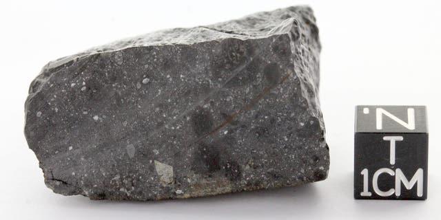 Martian meteorite NWA 7533 is worth more than its weight in gold. (Credit: University of Copenhagen/Deng et al.)