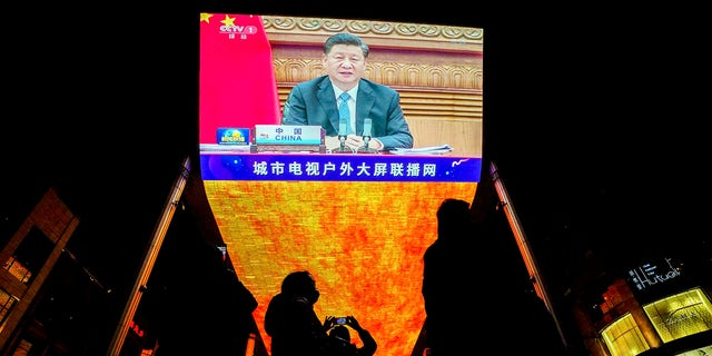 President Xi Jinping spoke at the G20 summit, which opened on Saturday with appeals from the world's most powerful leaders to collectively map a way forward as the coronavirus pandemic overshadows this year's rally.  (AP Photo / Andy Wong)