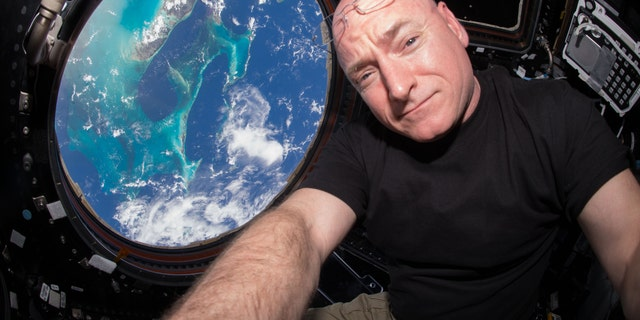 Astronaut Scott Kelly on the International Space Station - file photo.