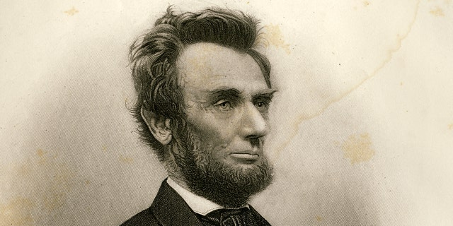 President Abraham Lincoln in early 1865.