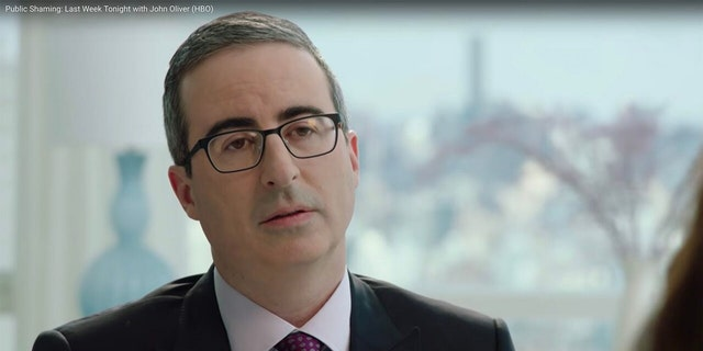 HBO's John Oliver admitted he nearly burst into tears when casting his first vote in a U.S. presidential election this year.
