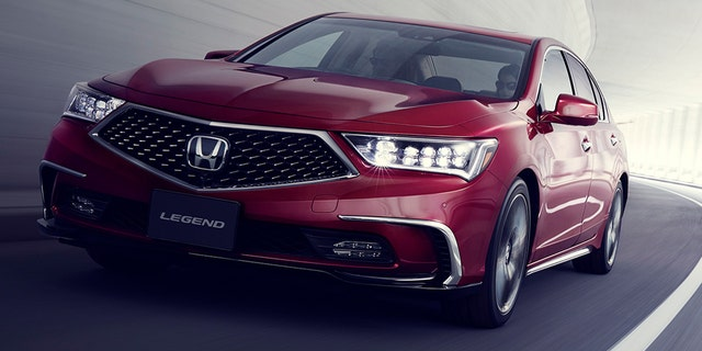 Traffic Jam Pilot will launch in the Honda Legend sedan.