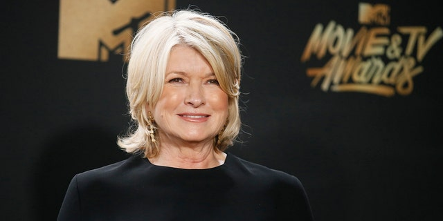 Martha Stewart commented on her 'thirst trap' poolside selfie from over the summer.