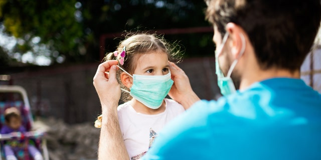 Giving the child a choice in mask material can also help alleviate some hurdles.