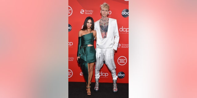 Megan Fox and Machine Gun Kelly started dating earlier this year after meeting while filming their upcoming movie 'Midnight in the Switchgrass.' (ABC via Getty Images)