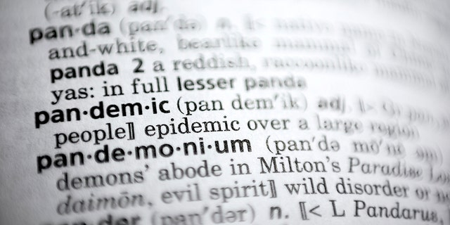 Merriam-Webster announces 'pandemic' as 2020 Word of the Year