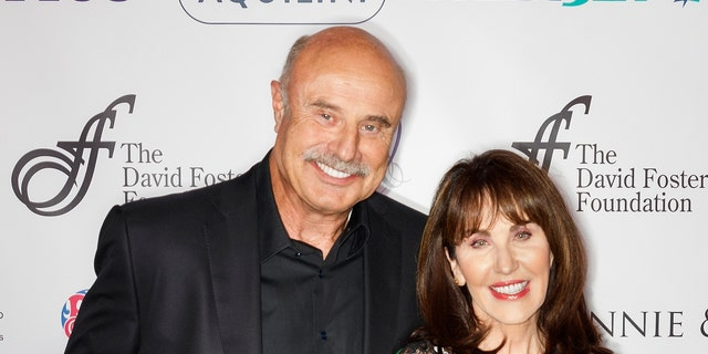 (L-R) Dr. Phil McGraw and Robin McGraw have been married since 1976.