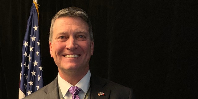 Photos of Ronny Jackson, former White House physician who was elected on Nov. 3, 2020 to be next congressman from Texas's 13th congressional district. Photos taken at New Member Orientation on Capitol Hill on Nov. 13, 2020 by Marisa Schultz/Fox News