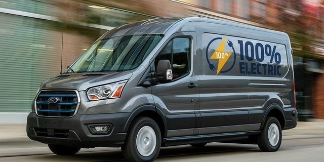 Ford E-Transit battery electric van revealed