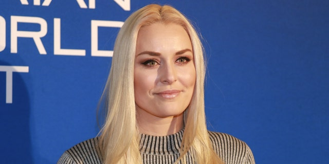 Lindsey Vonn says her dogs are always with her, even in the gym. (Photo by Martin Rauscher/SEPA.Media /Getty Images)