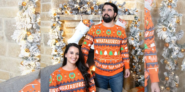 The chain's Christmas sweaters have sold out in past years.