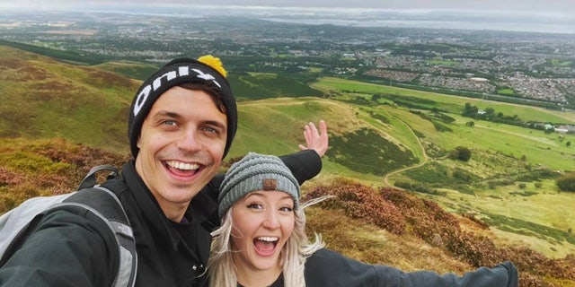 Adam Lawrence and Anna Hosey plan to live somewhere in London after they get married, which should take place sometime in 2021. (Credit: SWNS)