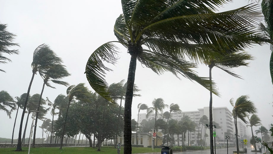 Record-breaking hurricane season sees late system pushing rain, severe weather up East coast