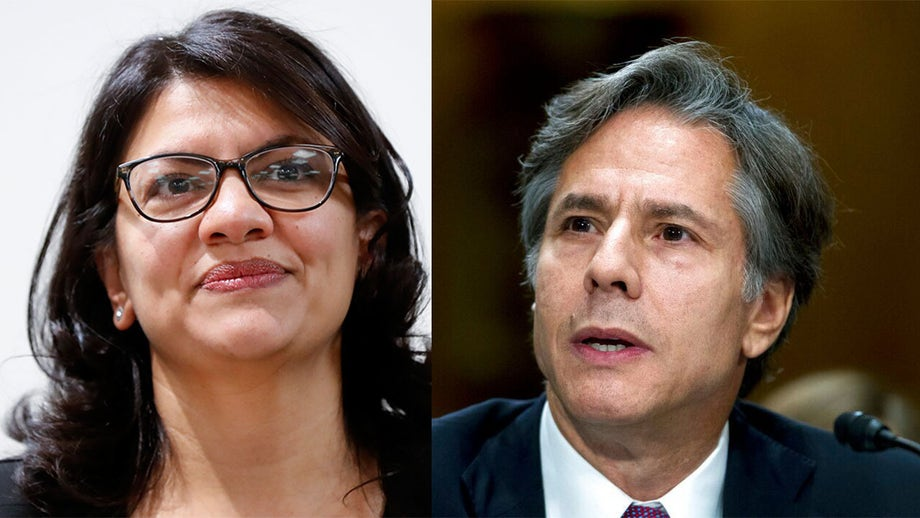Rashida Tlaib accused of anti-Semitism for reaction to Biden's Jewish Sec of State nominee