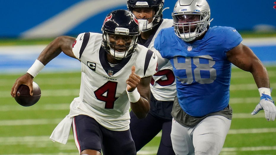 Lions fans thank Deshaun Watson after Matt Patricia's dismissal: report