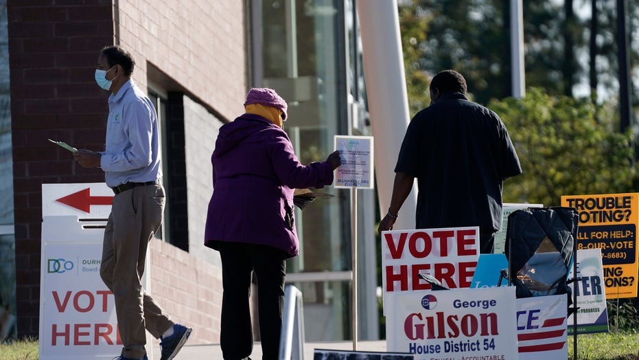 NC election board says 117,000 mail-in ballots still outstanding, will not 'prognosticate' a winner