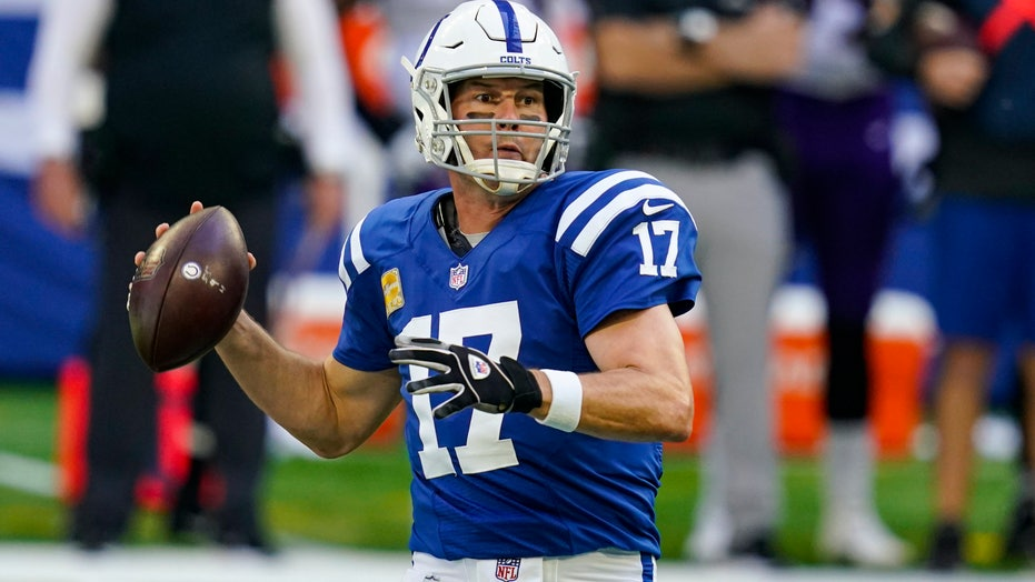 Philip Rivers mocked as Colts quarterback tripped while trying to tackle defender