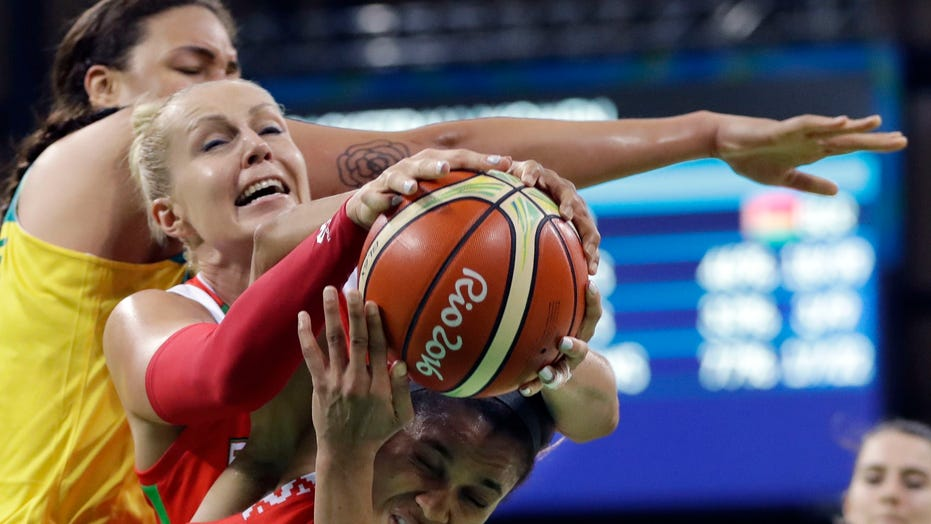 Former Belarus basketball star Yelena Leuchanka reflects on jail time for protest
