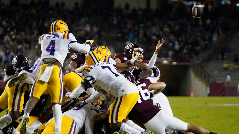 Spiller, defense lead No. 5 Texas A&M to 20-7 win over LSU