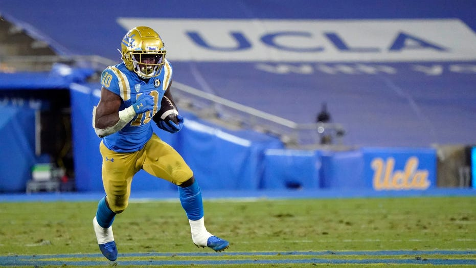 Felton runs for career-high 206 yards as UCLA beats Arizona