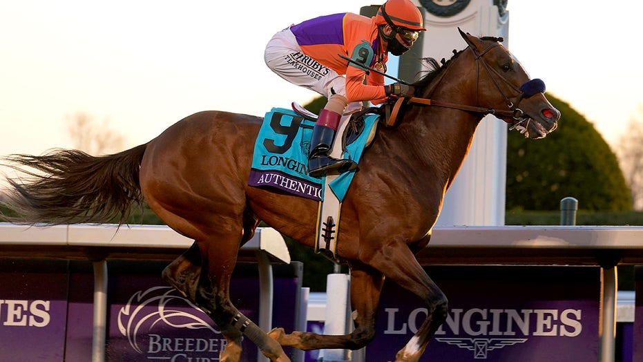Authentic goes wire-to-wire to win Breeders' Cup Classic